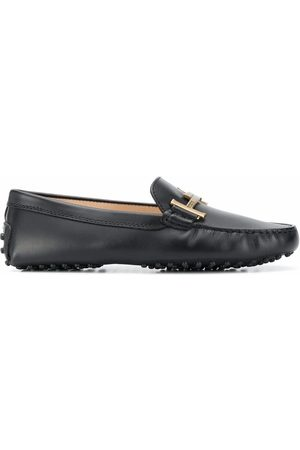 Tod's WOMEN'S XXW00G0DD30NB6B999 LEATHER LOAFERS