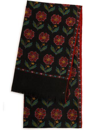 Kashmir Loom Handloomed Kani Weave Shawl - Color: - Material: 100% Cashmere - Moda Operandi