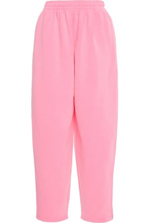 Balenciaga Women's Oversized Fleece Sweatpants - - Moda Operandi