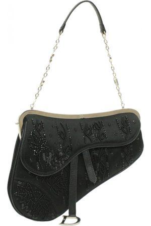 Dior VINTAGE Saddle Cloth Clutch Bag for Women