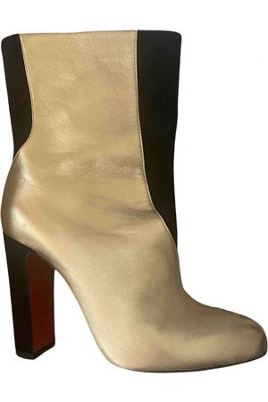 Christian Louboutin Women Ankle Boots - \N Suede Ankle boots for Women