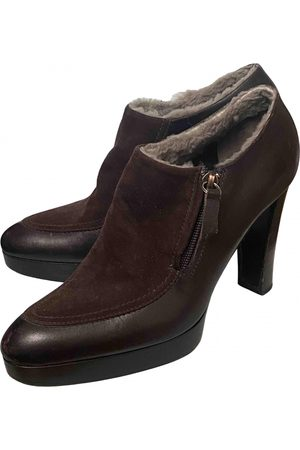 Céline Women Ankle Boots - \N Leather Ankle boots for Women