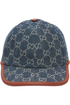 Gucci Women Caps - Gg Vintage Effect Baseball Cap