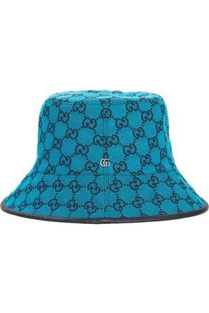Gucci Women Hats - Gg Multicolor Canvas Bucket Hat