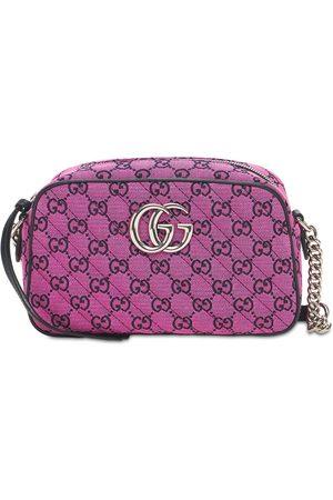 Gucci Gg Marmont Multicolor Canvas Camera Bag