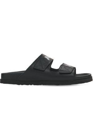 Palm Angels Men Sandals - Leather Sandals