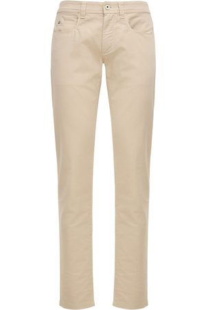 Loro Piana Men Stretch - 18cm Stretch Cotton Jeans