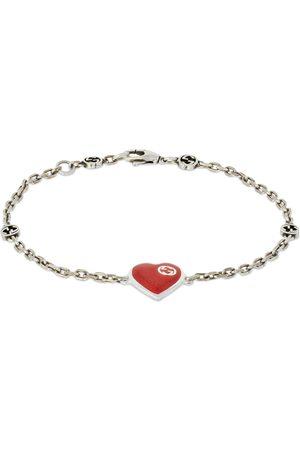 Gucci Heart Bracelet W/ Interlocking G