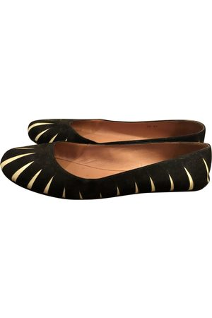 Alaïa \N Leather Ballet flats for Women