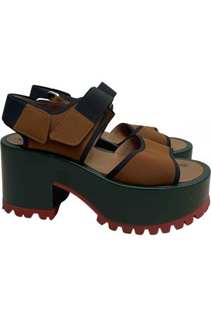 Marni \N Leather Sandals for Women