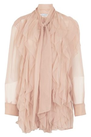 VALENTINO Silk chiffon shirt
