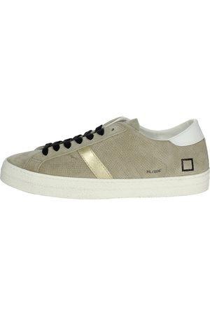 D.A.T.E. Sneakers Men Tortora Camoscio