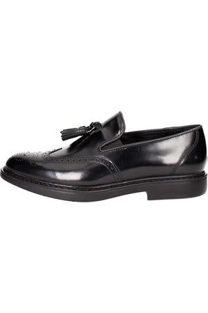 Docksteps Men Loafers - Loafers Men Pelle Abrasivata
