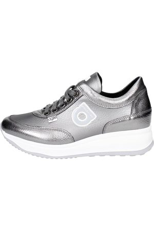 AGILE BY RUCOLINE Sneakers Women Anthracite Pelle
