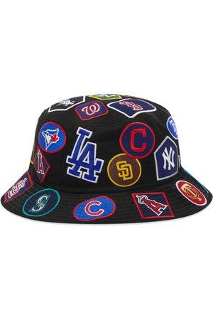 New Era Men Hats - MLB All-Over Logo Bucket Hat