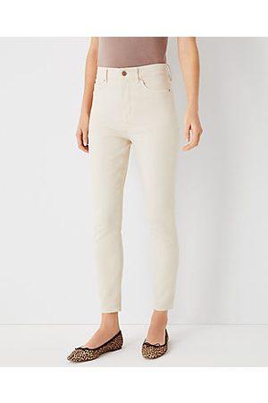 ANN TAYLOR Petite Curvy Sculpting Pocket Highest Rise Skinny Jeans