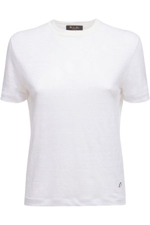 Loro Piana Linen Jersey Roundneck T-shirt