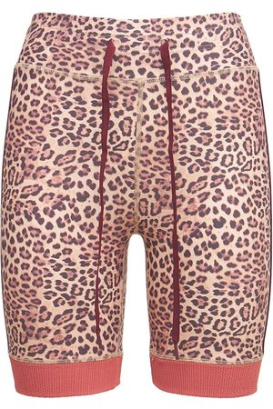 The Upside Women Shorts - Leopard Spin Shorts