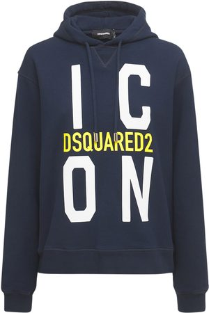 Dsquared2 Icon Cool Cotton Jersey Hoodie
