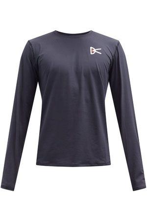 District Vision Air-wear Logo-print Mesh Long-sleeved T-shirt - Mens