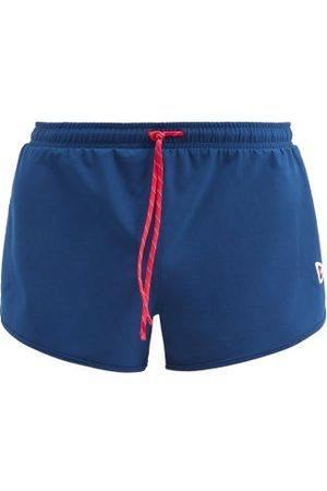 "District Vision Men Sports Shorts - Simon 3"" Recycled-fibre Running Shorts - Mens - Navy"