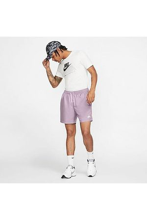 Nike Men's Sportswear Flow Woven Shorts in /Iced Lilac Size Small 100% Polyester/Twill