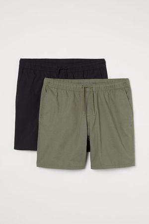 H&M 2-pack Regular Fit Shorts