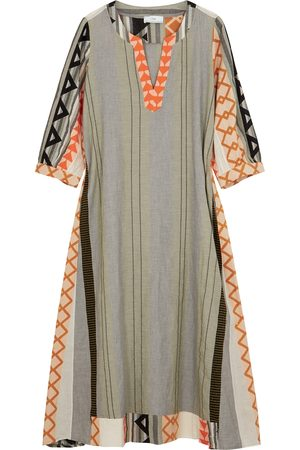DEVOTION Malmo embroidered cotton kaftan