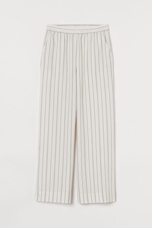 H&M Wide Lyocell Pajama Pants