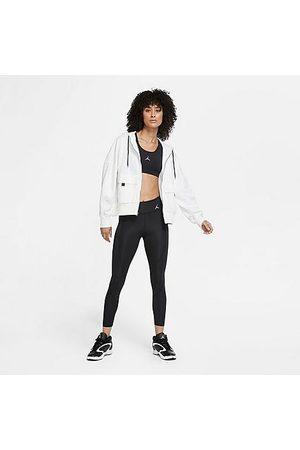 Nike Women Leggings - Jordan Women's Essential Crop Leggings in / Size X-Small Polyester/Spandex