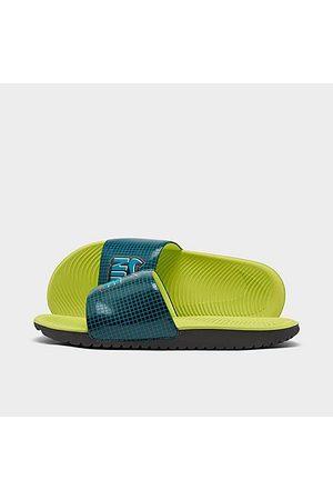 Nike Sandals - Little Kids' Kawa SE1 Slide Sandals in /Black Size 1.0 Leather