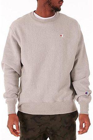 Champion Men's Reverse Weave Crewneck Sweatshirt in Grey/Grey Size 2X-Large