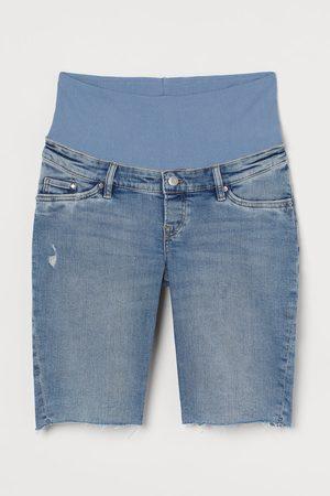 H&M MAMA Denim Bermuda Shorts