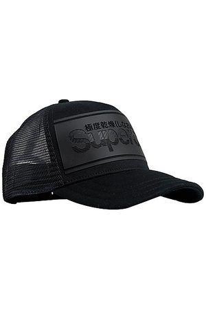 Superdry Stripe Logo Snapback Hat in /