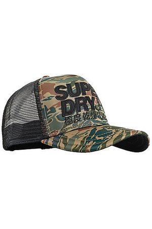 Superdry Lineman Trucker Snapback Hat in /