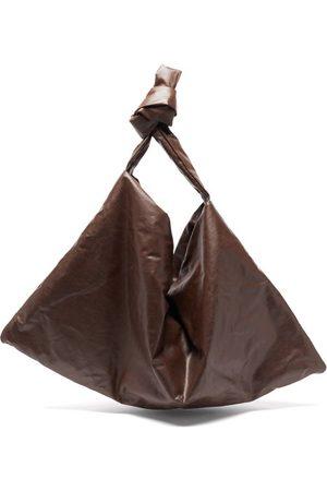 Kassl Editions Square Medium Coated-canvas Shoulder Bag - Womens - Dark