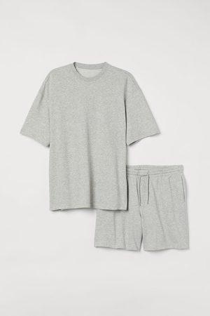 H&M Pajama T-shirt and Shorts
