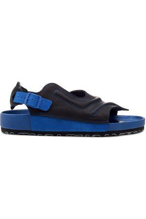 Birkenstock Men Sandals - Terra Leather Slingback Sandals - Mens
