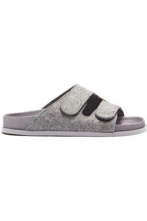 Birkenstock The Forager Felt Sandals - Womens - Grey