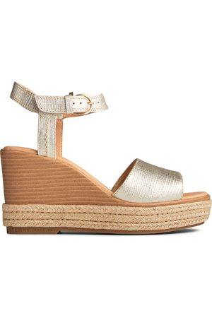 Sperry Top-Sider Women's Sperry Fairwater PLUSHWAVE Wedge Sandal , Size 7M