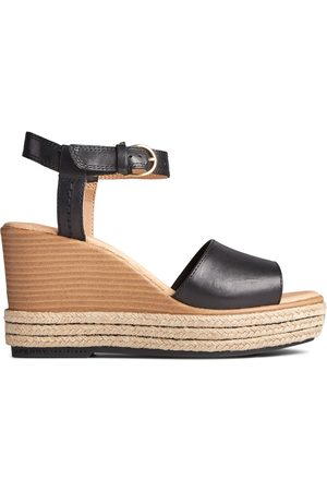 Sperry Top-Sider Women's Sperry Fairwater PLUSHWAVE Wedge Sandal , Size 6M