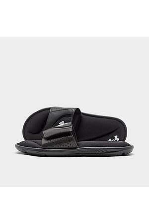 Under Armour Boys Sandals - Boys' Big Kids' UA Ignite VI Slide Sandals in /