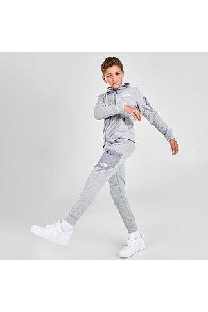 The North Face Boys' Mittellegi Jogger Pants in Grey/Light Grey Heather
