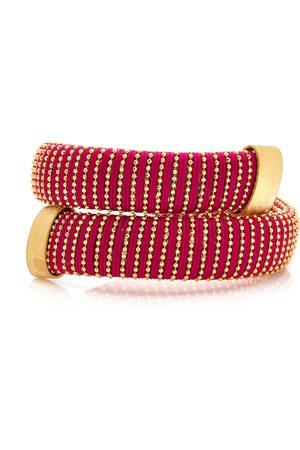CAROLINA BUCCI Women Bracelets - Women's Magenta Caro Gold-Plated Bracelet - - Moda Operandi