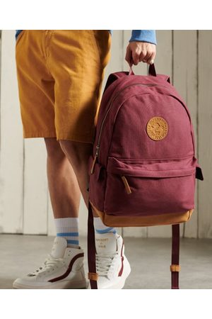 Superdry Unisex Waxed Canvas Montana Rucksack