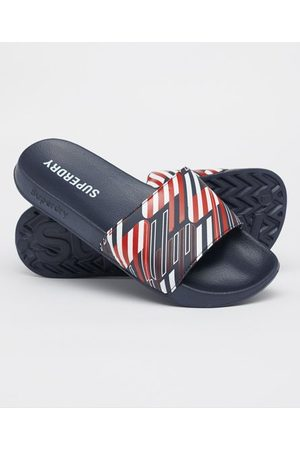 Superdry All Over Print Pool Sliders