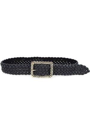 B-Low The Belt Women's Janelle Braided Leather Belt - - Size Medium