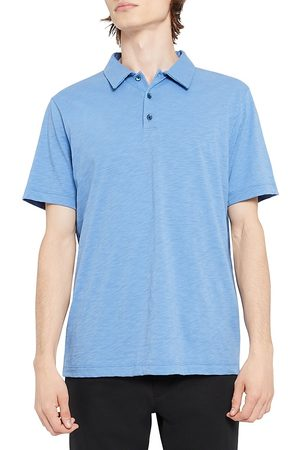 THEORY Men's Cosmo Regular-Fit Polo Shirt - Skyline - Size XXL