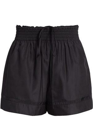 3.1 Phillip Lim Women's Taffeta Boxing Shorts - - Size Medium