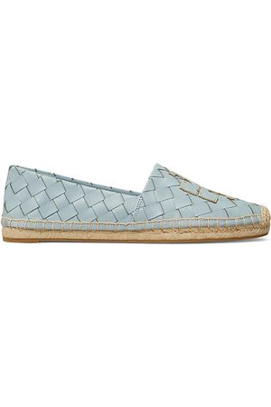 Tory Burch Women's Ines Woven Leather Espadrilles - - Size 8